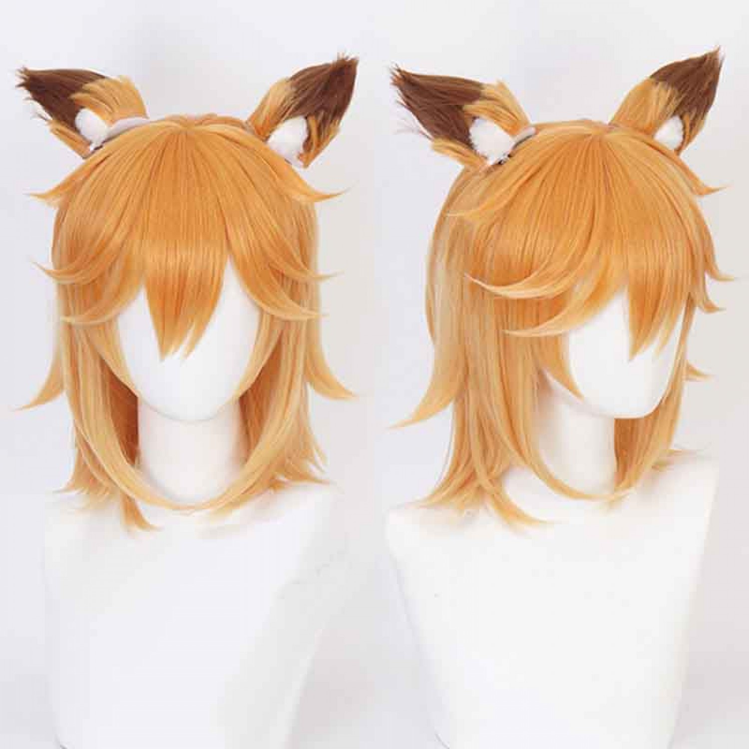 Sewayaki Kitsune no Senko-san Orange Cosplay Wig