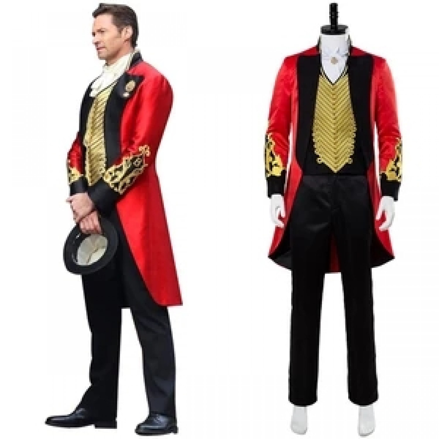The Greatest Showman P.T. Barnum Full Set Outfit Cosplay Custome