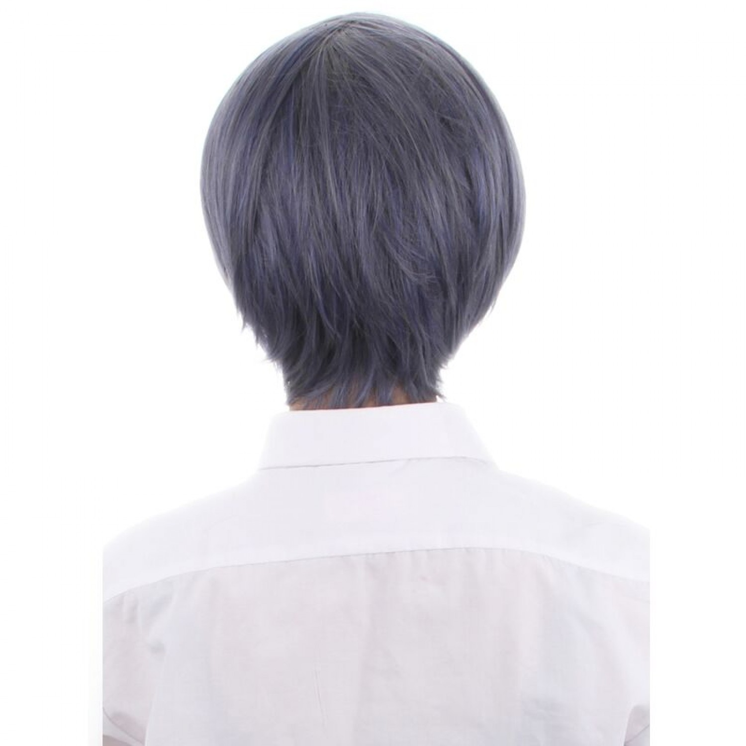 Black Butler Ciel Phantomhive Mixed Color Synthetic Hair Cosplay Wig