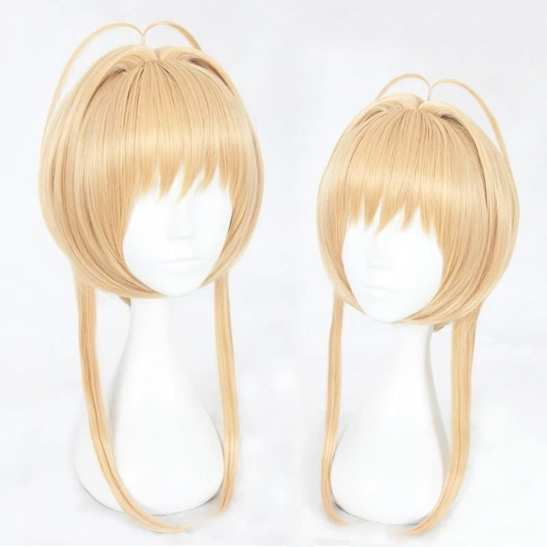 Cardcaptor Sakura Kinomoto Sakura Golden Anime Cosplay Wig