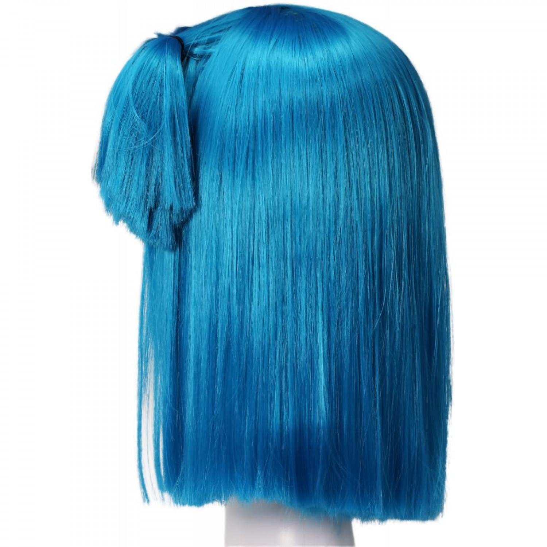 Bulma Wig Dragon Ball Z Costume Pre-styled Cosplay Hair Wig