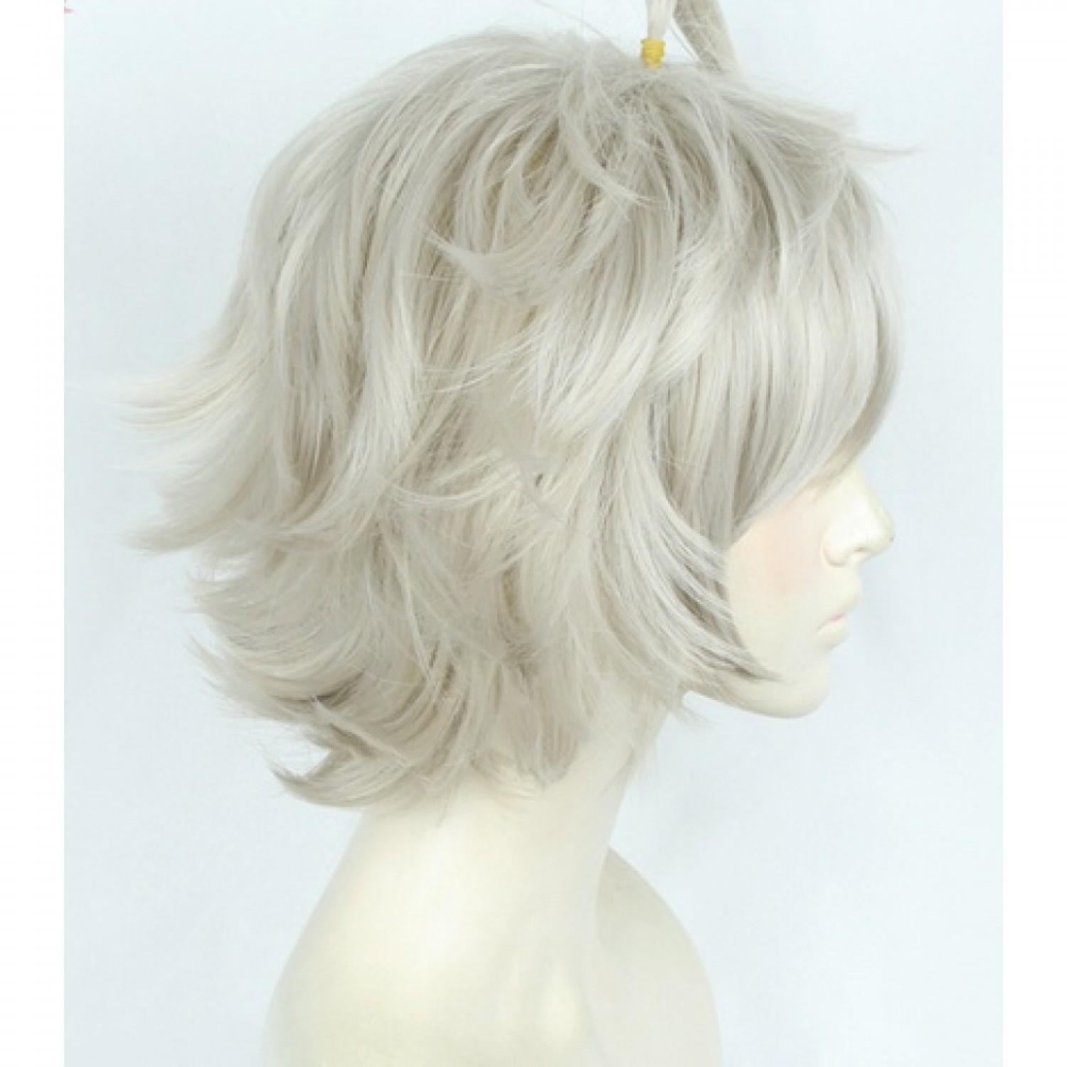 Black Clover Asta Short Anime Styled Cosplay Wig