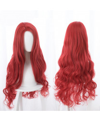 Aquaman Mera Long Wavy Light Brown Cosplay Hair Wig