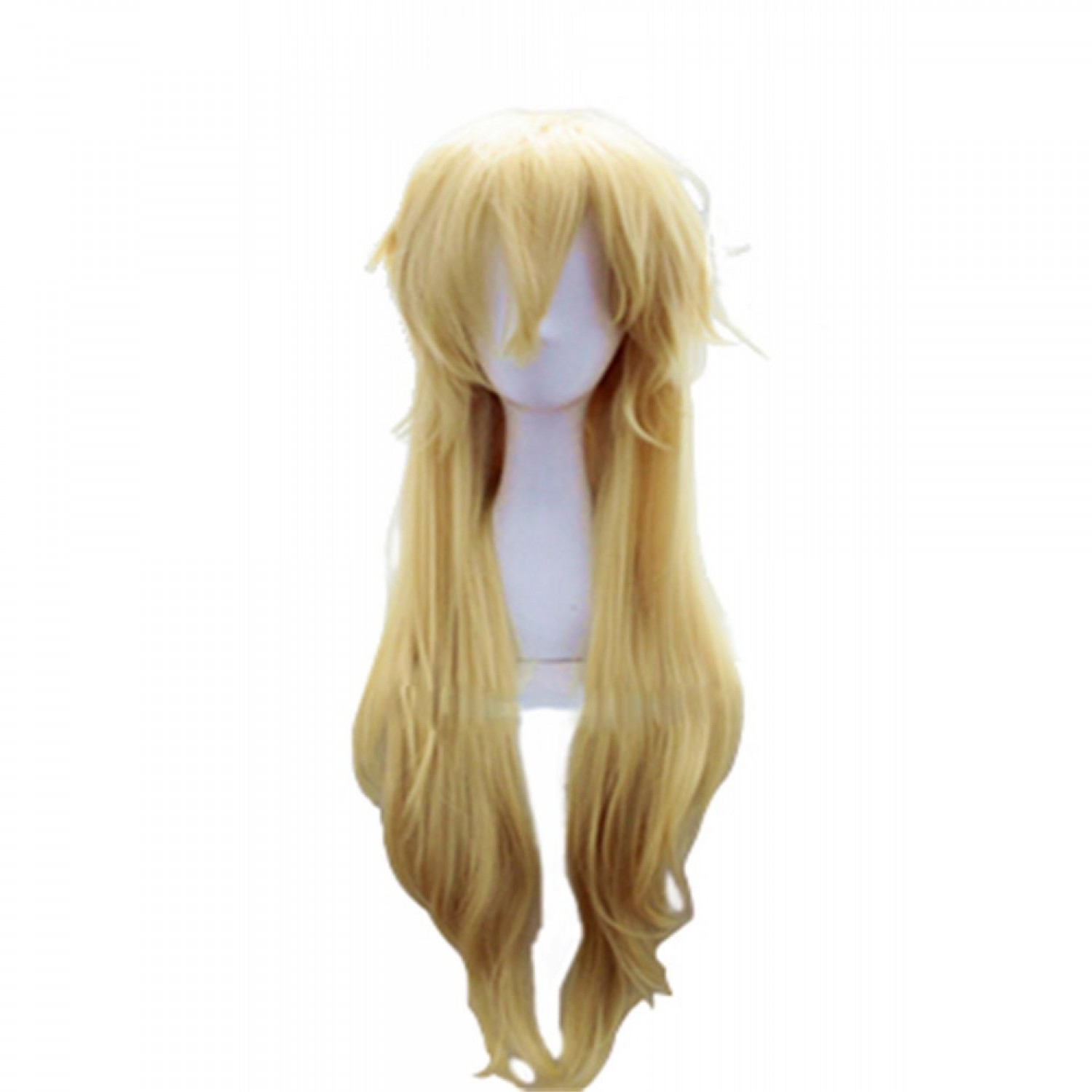 Star Butterfly Golden Long High Temperature Silk Cosplay Hair Wig
