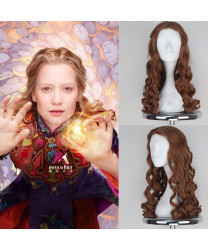 Alice Through the Looking Glass Alice Long Wave Brown Cosplay Wig