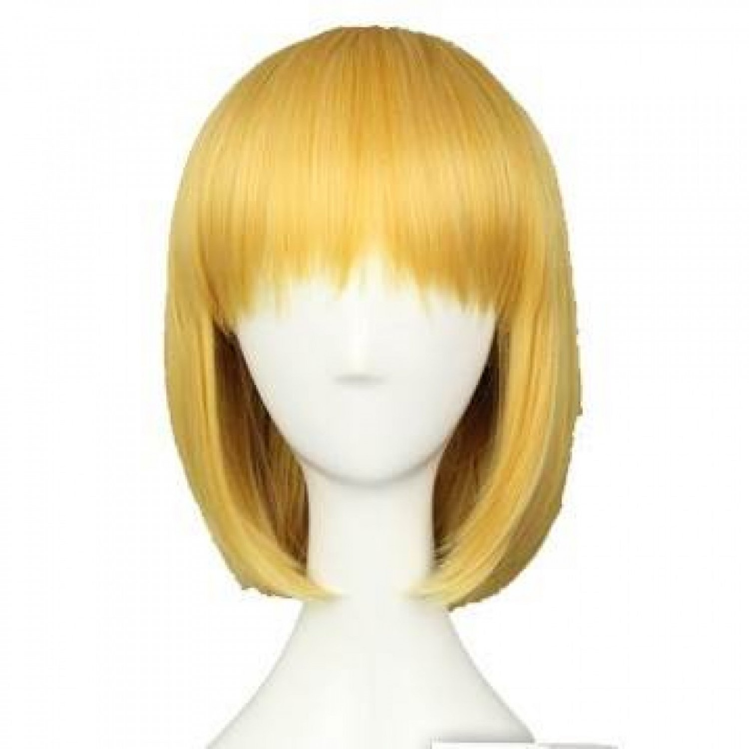 Attack on Titan Armin Arlart Short Bob Golden Cosplay Hair Wig