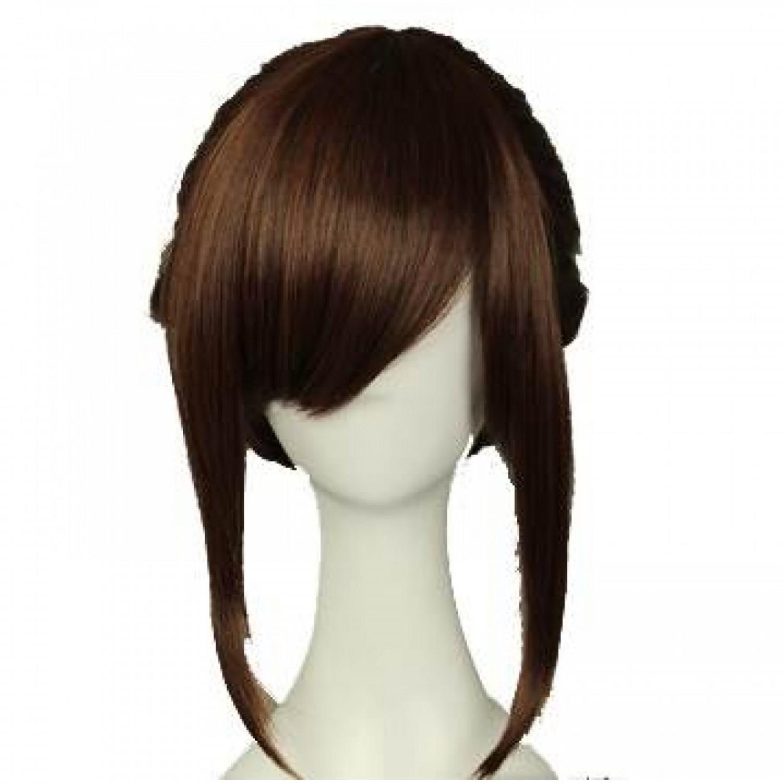 Attack on Titan Sasha Blouse Red Brown Ponytail Cosplay Hair Wig
