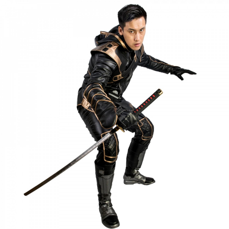 Avengers Endgame Hawkeye Ronin Cosplay Costume