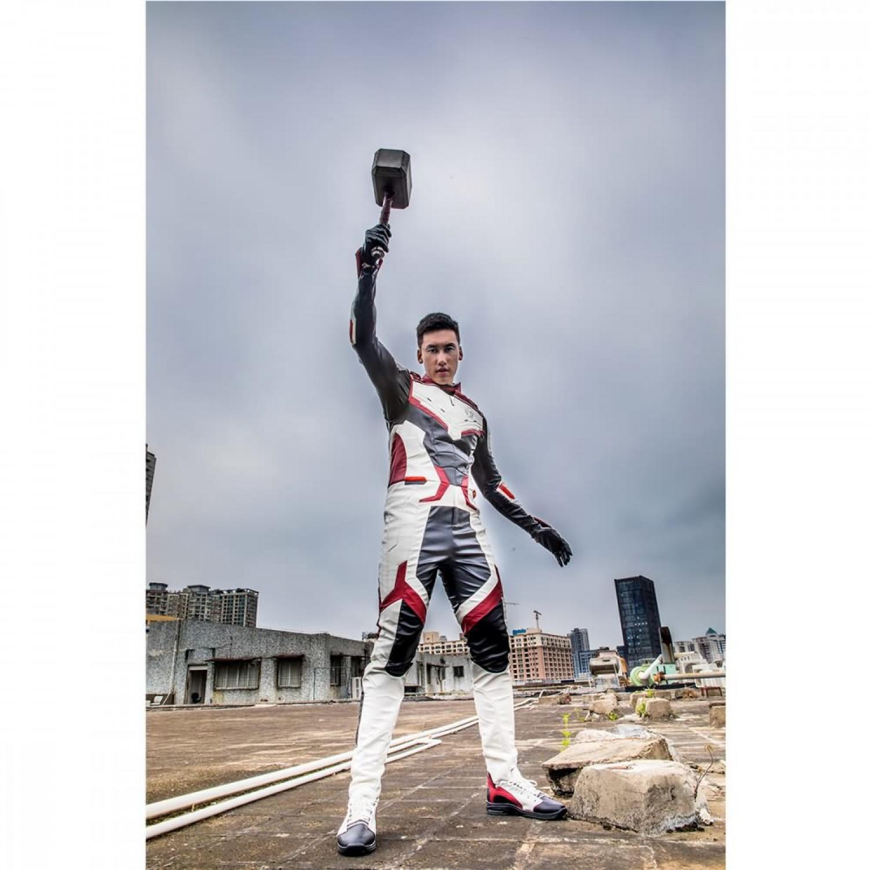 Avengers Endgame Quantum Cosplay Costume