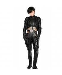 Deadpool 2 Domino PU Leather Cosplay Costume