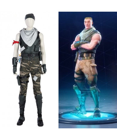 Fortnite Male Soldier Cosplay Costumes