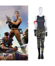 Fortnite Female Soldier Cosplay Costumes