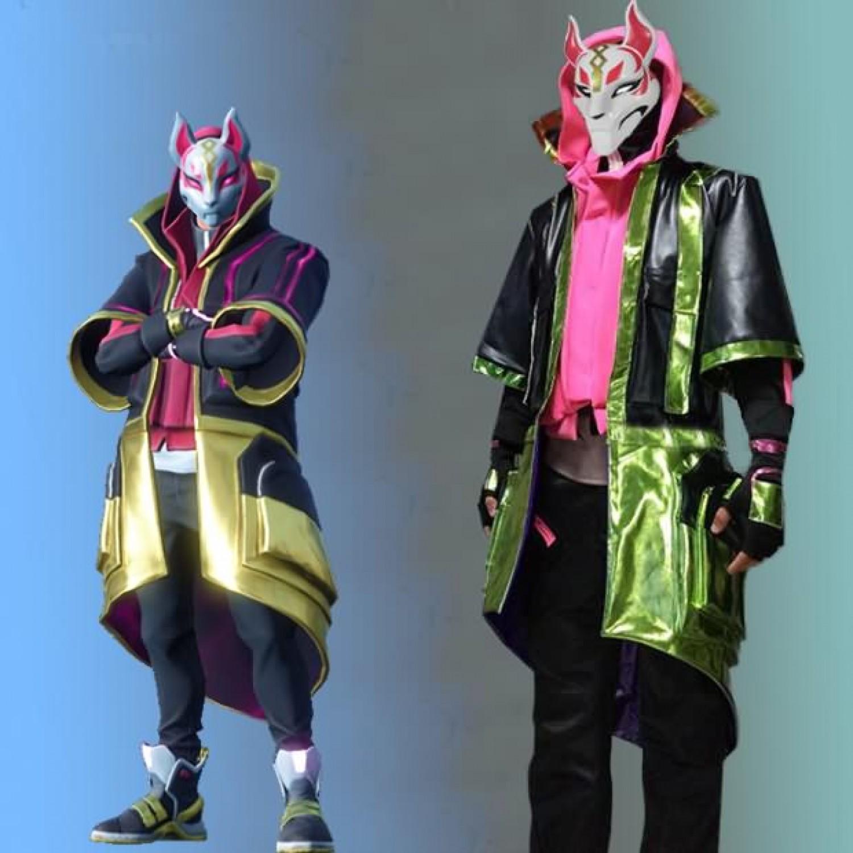 Halloween Fortnite Characters.Fortnite Drift Skins Cosplay Costumes Full Set Free