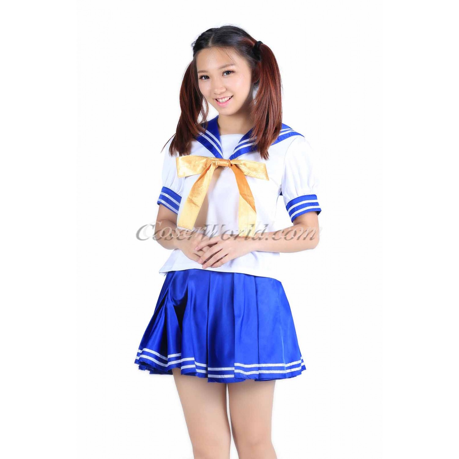 Luck Star Hiiragi Tsukasa Dress Cosplay Costume