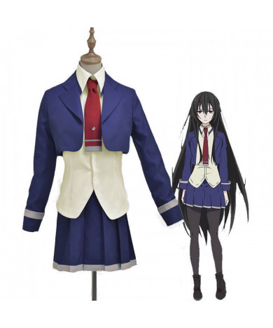 Armed Girl's Machiavellism Kirukiru Amou Cosplay Uniform Costumes