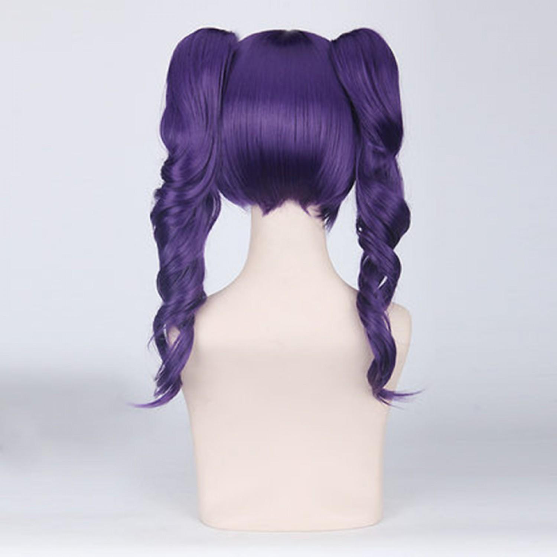 Bleach Katen Kyoukotsu Medium Purple Cosplay Wigs
