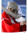 Cosplay Wig Inuyasha Inu Yasha Long Straight White Party Wigs 100 cm
