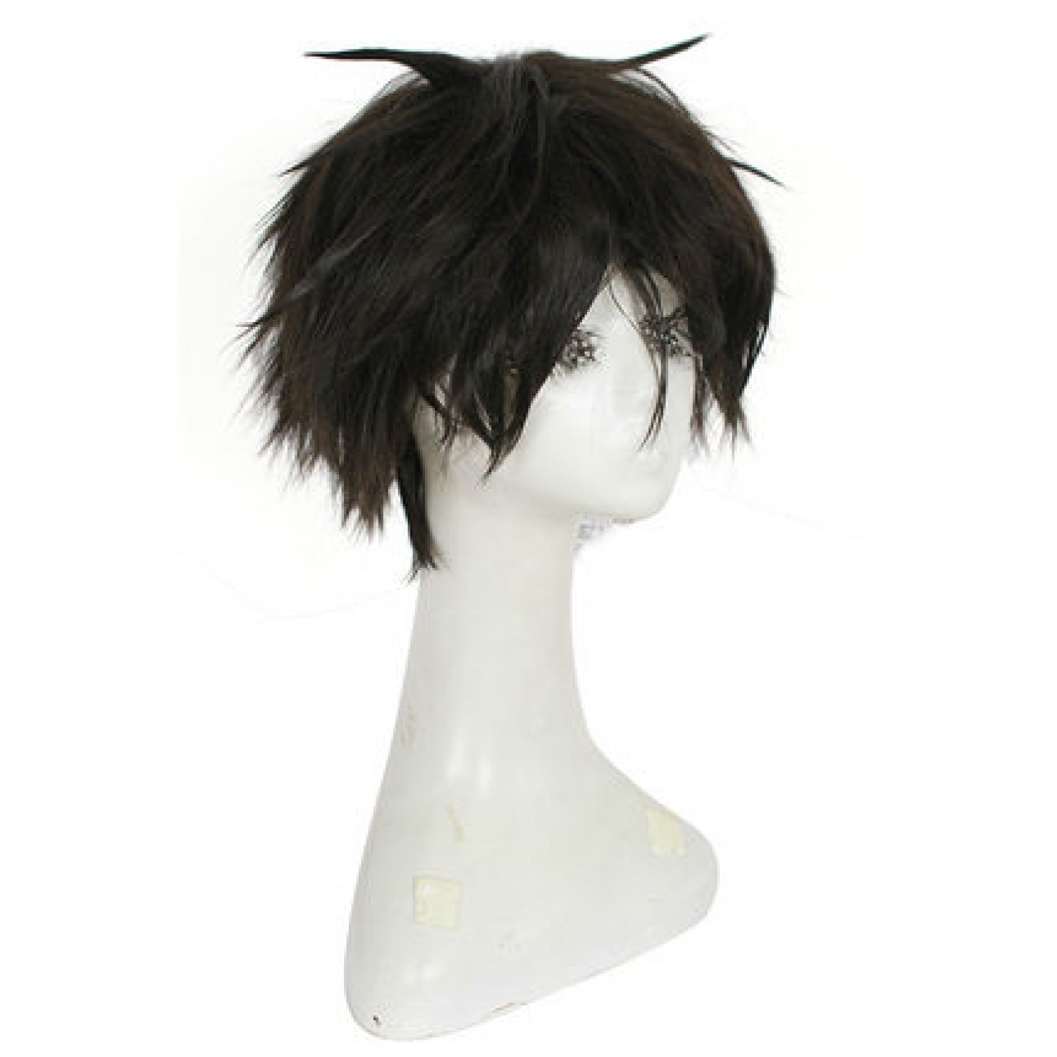 One Piece Monkey.D.Luffy Black Short Straight Cosplay Wig