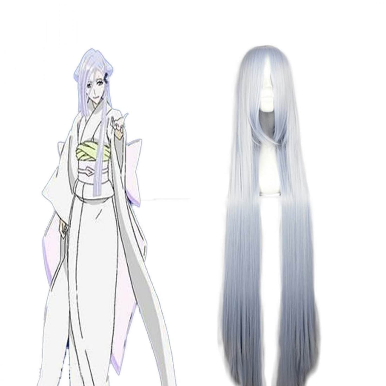 Bleach Sode no Shirayuki Long Straight Cosplay Wig 100 cm