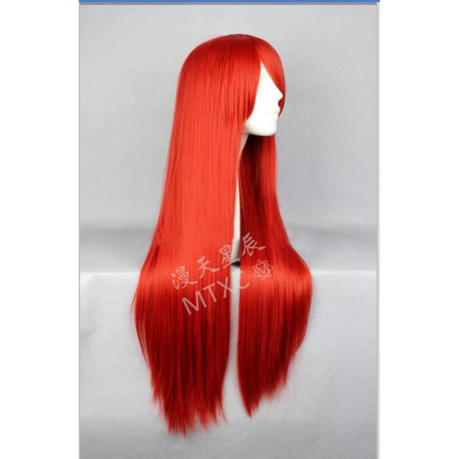 A Certain Magical Index Musujime Awaki Red Cosplay Wig