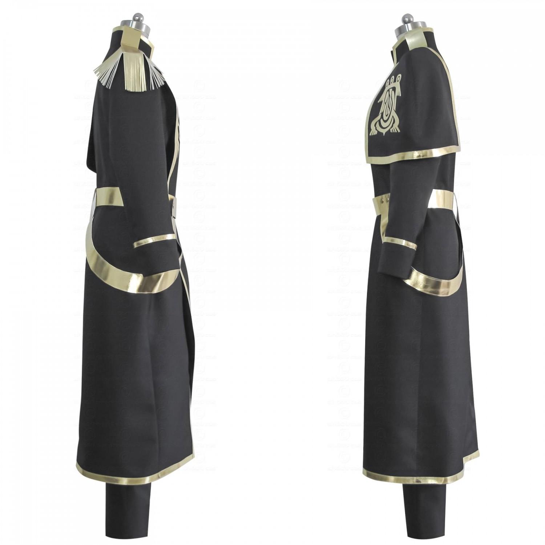 Custom 07-GHOST Ayanami Barsburg Empire Uinforn Cosplay Costume