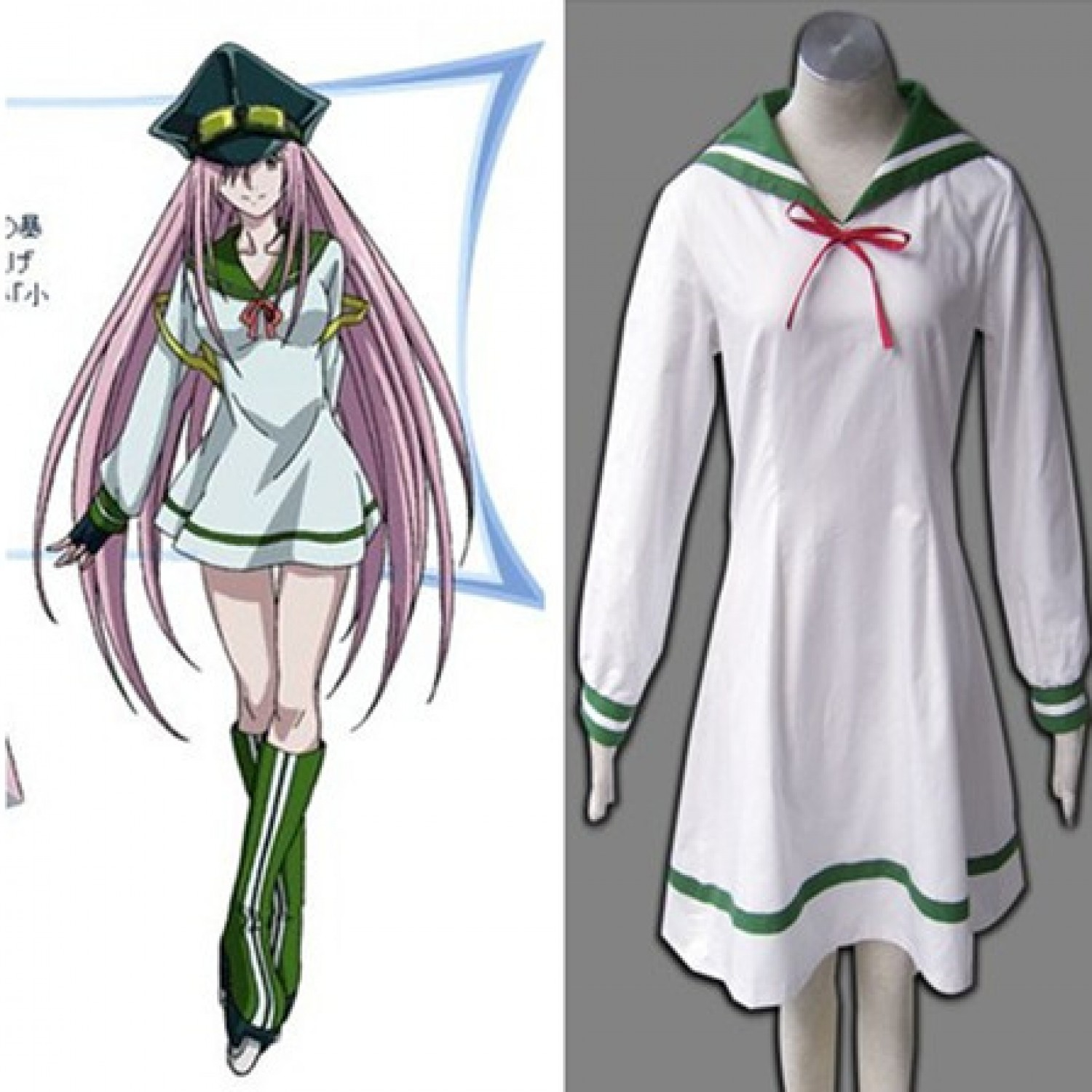 Air Gear Watalidaoli Simca 1ST Cosplay Costumes for Gril