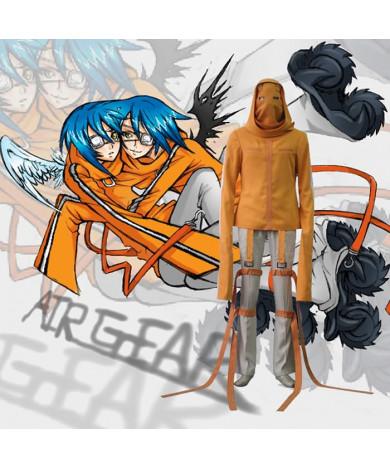 Air Gear Akito Agito Wanijima Cosplay Outfits Costumes