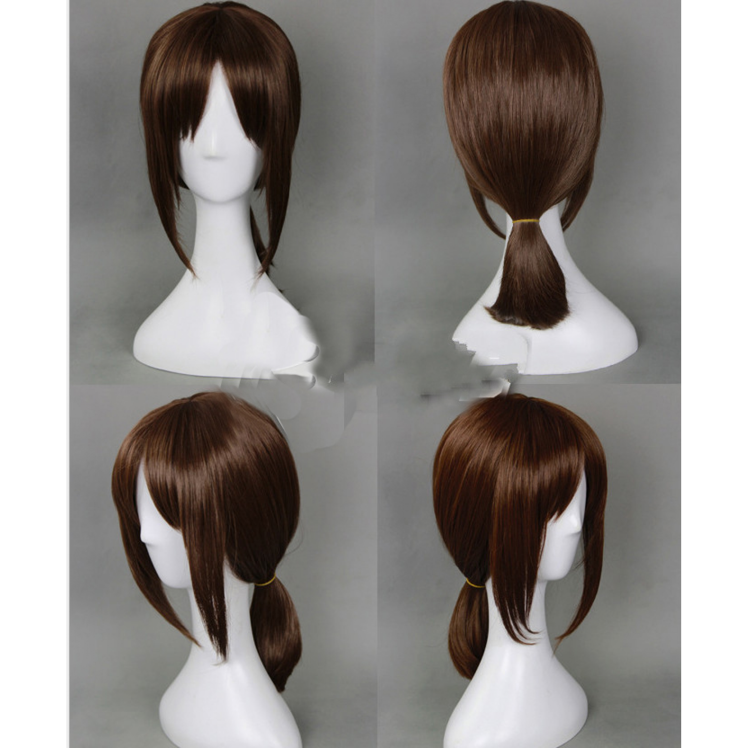 Attack on Titan Ymir Brown Short Anime Cosplay Wigs