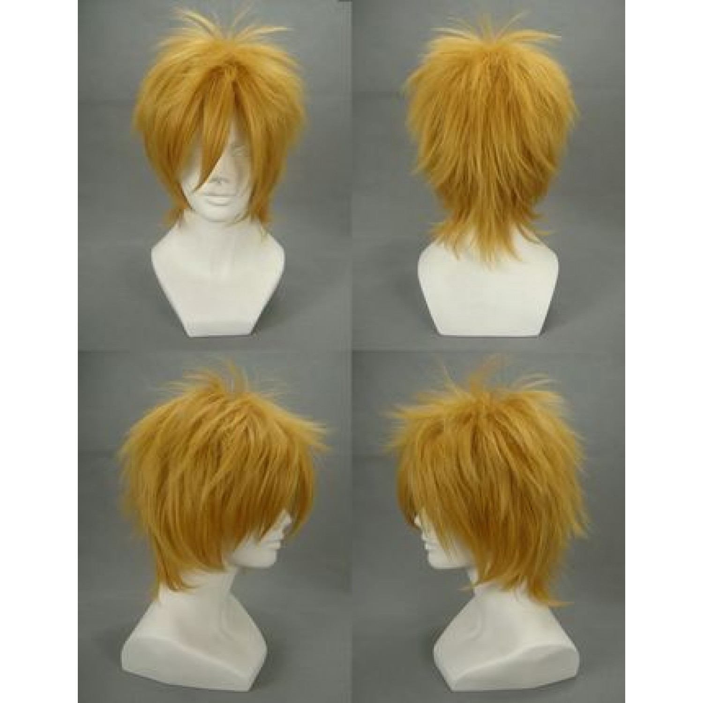Cheap 07-Ghost Fran Birkin Golden Cosplay Wigs