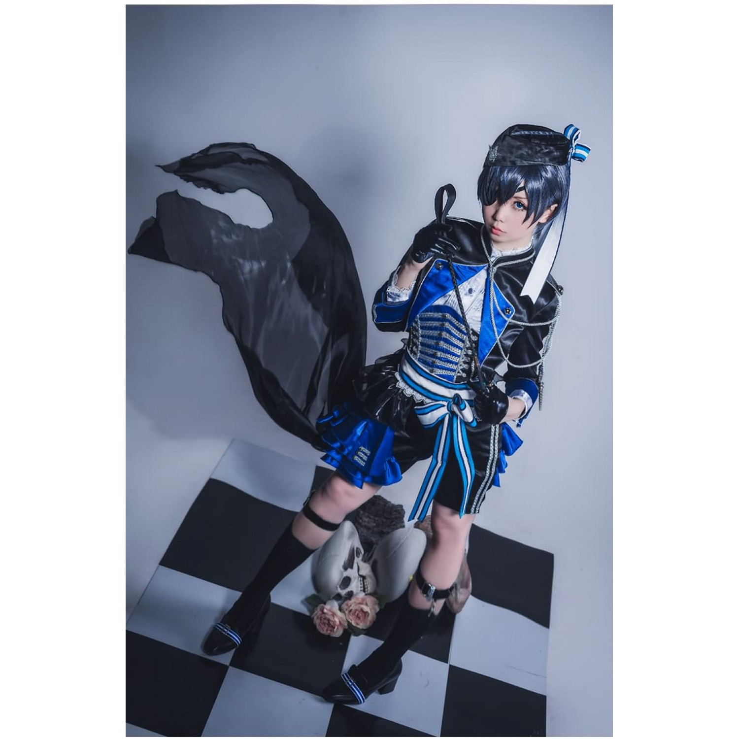 Black Butler Ciel Phantomhive Aniplex Japan Anime Cosplay Costume