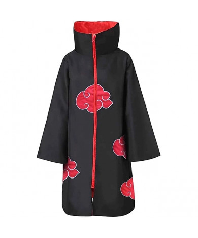 Naruto Akatsuki Uchiha Itachi Ninja Wind Cosplay Cloak Costume