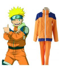 Naruto Uzumaki Childhood Shippuuden Suit Cosplay Costume