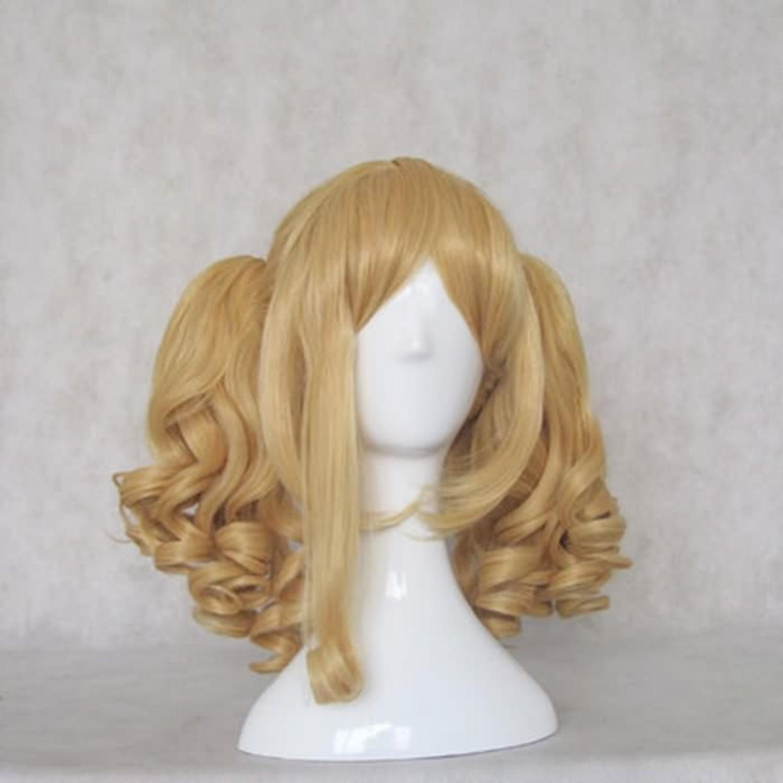 Black Butler Elizabeth Midford Blonde Cosplay Halloween Wig