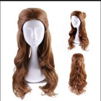 Beauty and the Beast Disney Princess Belle Synthetic Hair Cosplay Wig