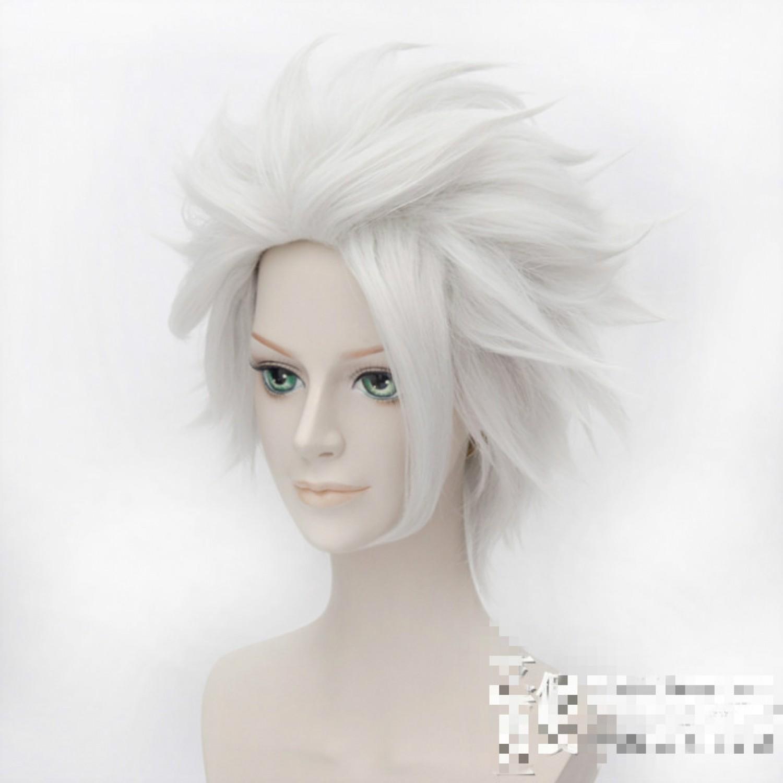 Bleach Toshiro Hitsugaya Cosplay Costume Wig