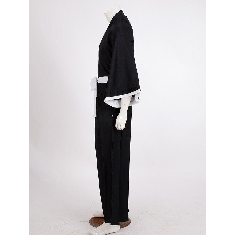 Bleach Kurosaki Ichigo Robe Cloak Coat Anime Cosplay Costume