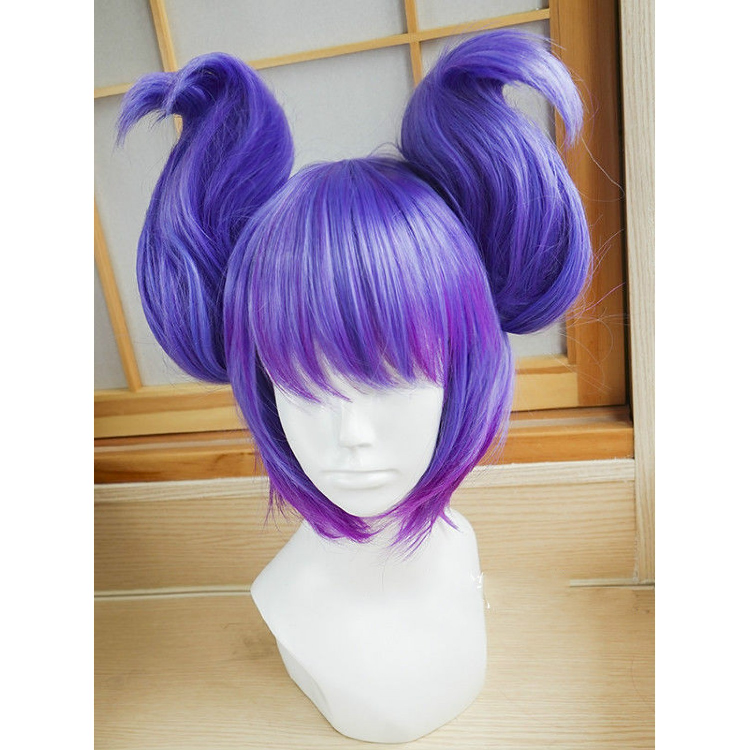 League of Legends Luxanna Crownguard Cosplay Wig