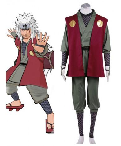 Naruto Uchiha Jiraiya Anime Cosplay Costume