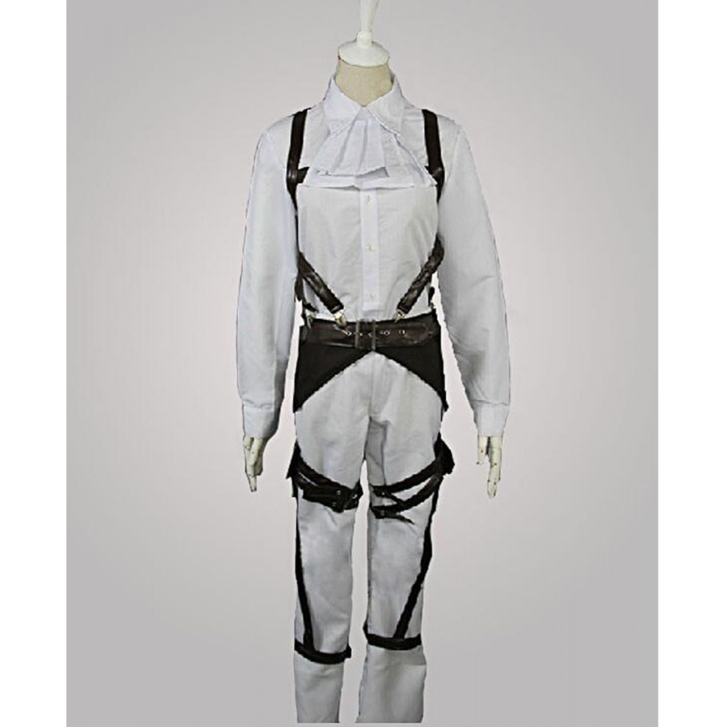 Attack On Titan Levi Ackerman the Recon Corps Cosplay Costume