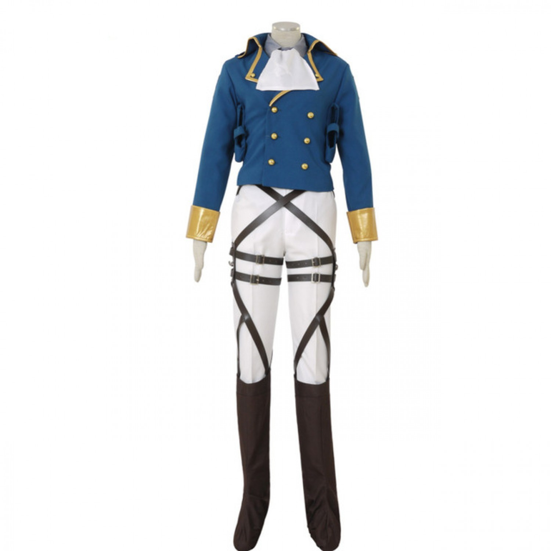 Attack on Titan Levi Ackerman Cosplay Costumens