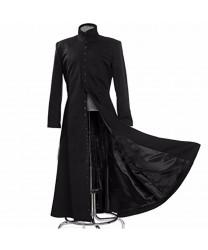 The Matrix Neo Black Coat Cosplay Costume