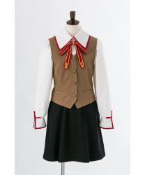 Fate stay night Houmu Hara School Girls Uniform Cosplay Costume