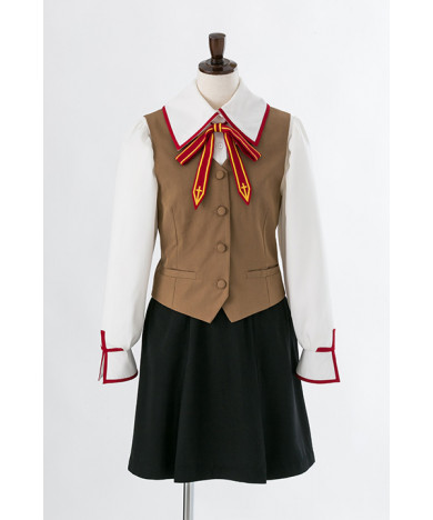 Fate stay night Houmu Hara School Girls Uniform Cosplay Costume