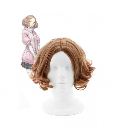 Persona 5 Haru Light Cosplay Wig