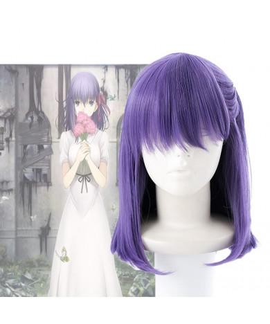 Fate Stay Night Matou Sakura Cosplay Wig