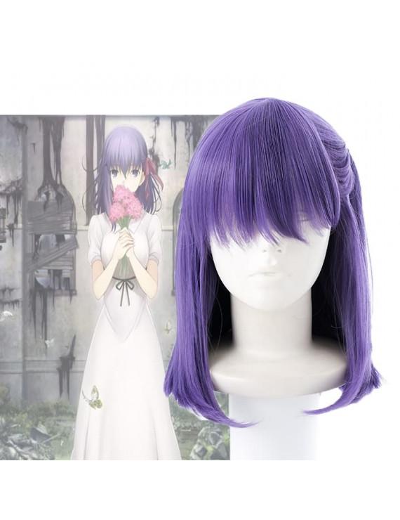 Fate Stay Night Matou Sakura Cosplay Wig