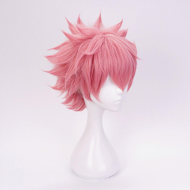 My Boku No Hero Academia BNHA Ashido Mina Cosplay Hair Wig