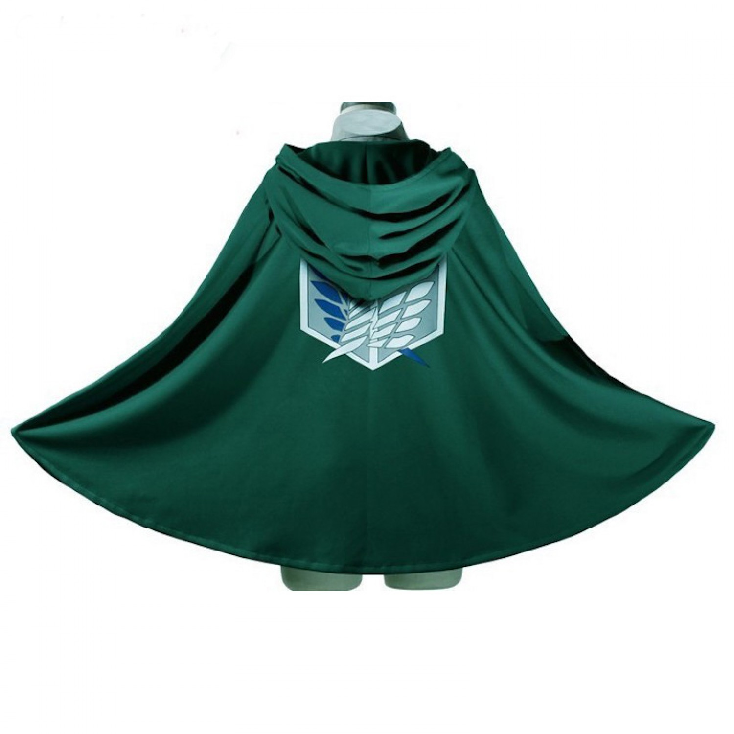 Attack on Titan Survey Corps 2 end Cloak Cape Cosplay Costumes