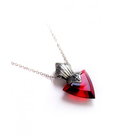 Fate Stay Night Tohsaka Rin Pendant Necklace Artificial crystal