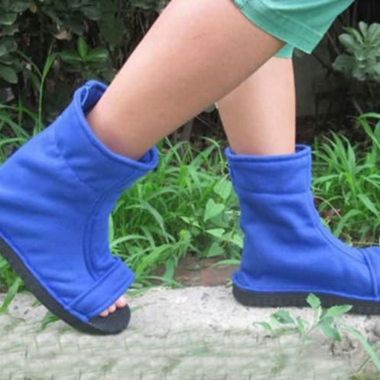 Ninja Sasuke Sandals Naruto Cosplay Uchiha Shoes Kakashi Boots mnwO0vN8